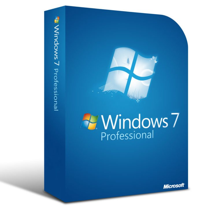 Обложка Windows 7 «Профессиональная»