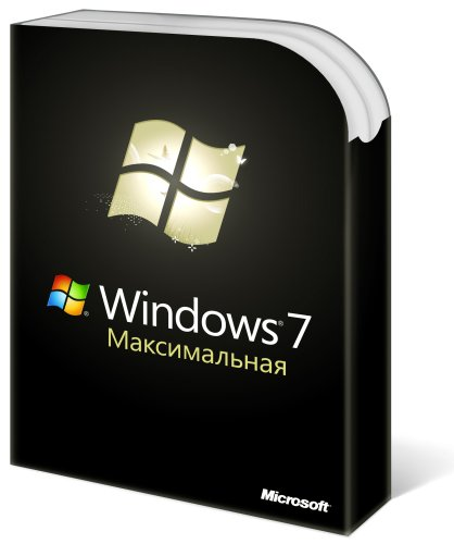 Обложка Windows 7 «Максимальная»